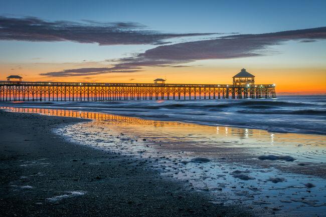 Folly beach dawn