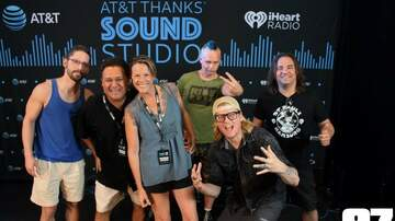 Photos - Puddle of Mudd in the AT&T THANKS Sound Studio on 8.29!