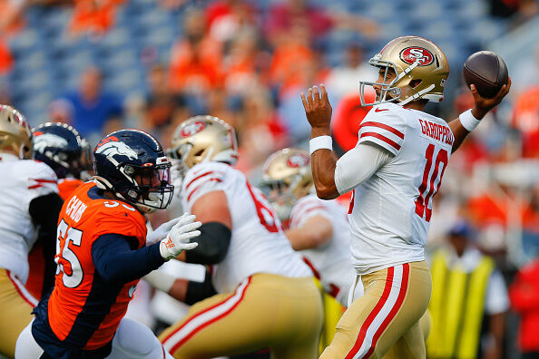 San Francisco 49ers v Denver Broncos