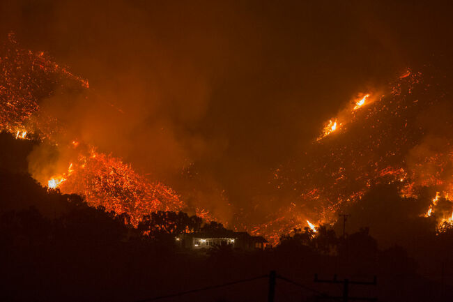 Feds Sue DWP Over 2017 Fire