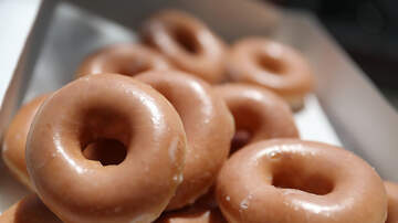 Trending in the Bay - Pumpkin Spice Krispy Kreme Doughnut