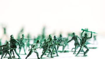 Charlie Munson - Toymaker Working On Plastic Army Women