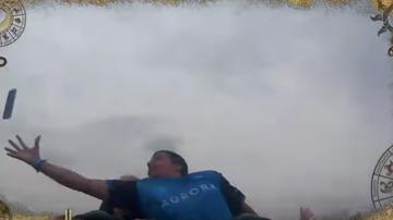 Trending - Remarkable Video Shows Man Catch Stranger's Phone On Roller Coaster
