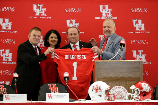 University of Houston Introduces Dana Holgorsen