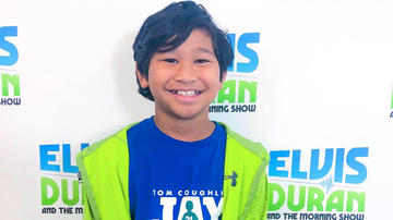 Elvis Duran - 11-Year-Old Cancer Patient Joins Elvis Duran On-Air With Inspiring Story