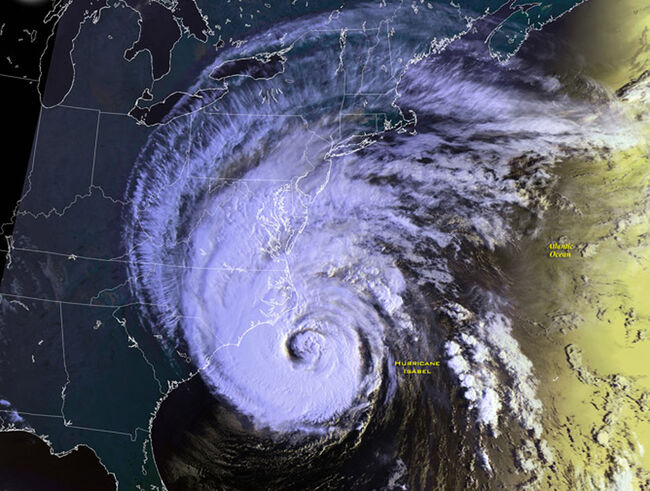 Hurricane Isabel Makes Landfall In U.S.