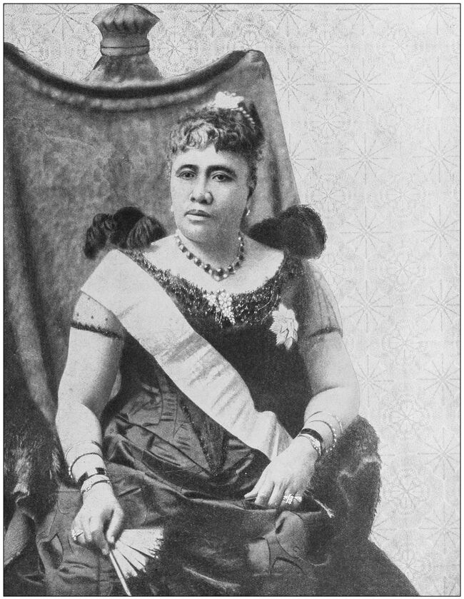 Antique historical photographs from the US Navy and Army: Liliuokalani, Queen of Hawaii