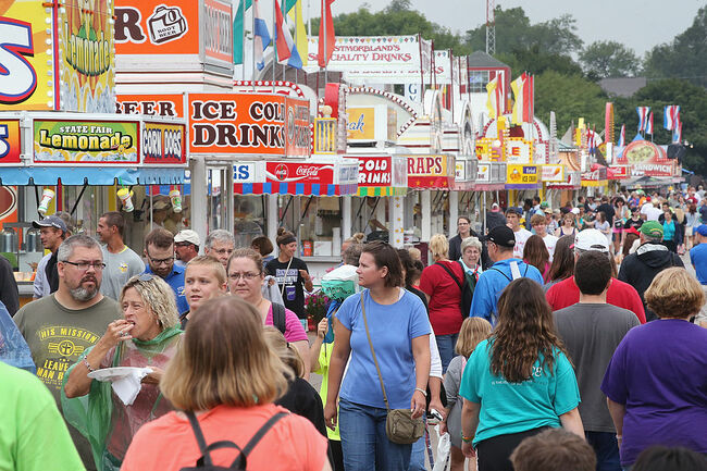 Crowds Flock To Iowa State Fair For A Taste Of Agricultural Bounty