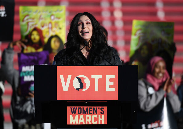 """Power To The Polls"" Voter Registration Tour Launched In Las Vegas On Anniversary Of Women's March"