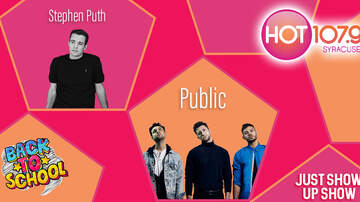 None - HOT 107.9's Back to School Just Show Up Show, with Stephen Puth and Public!
