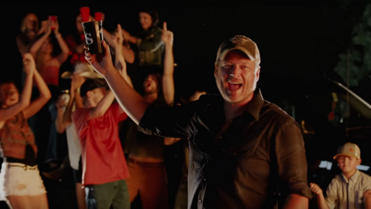 Blake Shelton And Trace Adkins Throw A Party In 'Hell Right' Music Video