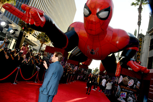 """Premiere Of Sony Pictures' """"Spider-Man Far From Home""""  - Red Carpet"""