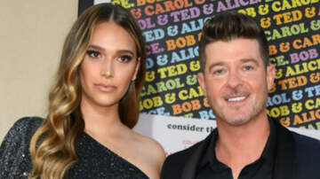 Entertainment - Robin Thicke & Fiancee April Love Involved In Car Accident In Malibu