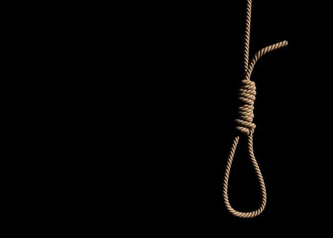 Loop rope with slipknot.