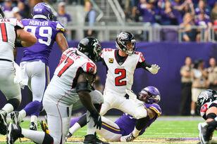 After big contract for Jones, Vikings make rough opener for Falcons | KFAN