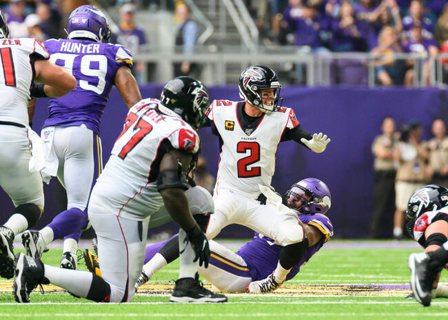 Atlanta Falcons v Minnesota Vikings
