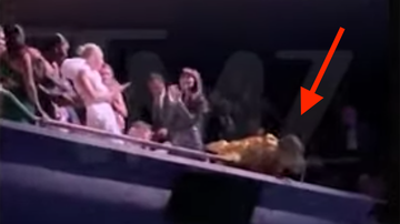 Trending - Jennifer Lopez Nearly Falls Off Balcony At Movie Premiere