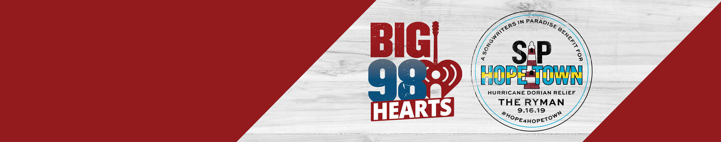 97 9 is The BIG 98 - Nashville's #1 For New Country