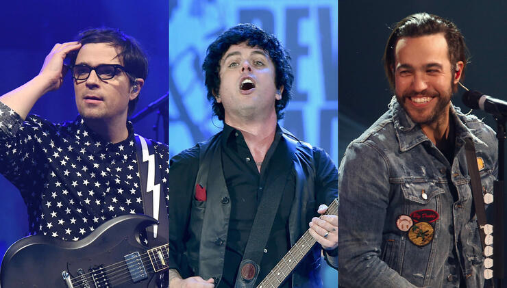 Billie Joe Armstrong Hints At Green Day, Weezer, Fall Out Boy Tour | iHeartRadio