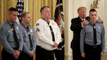 The Joe Pags Show - Trump Honors Six Cops Who Stopped Dayton Killer