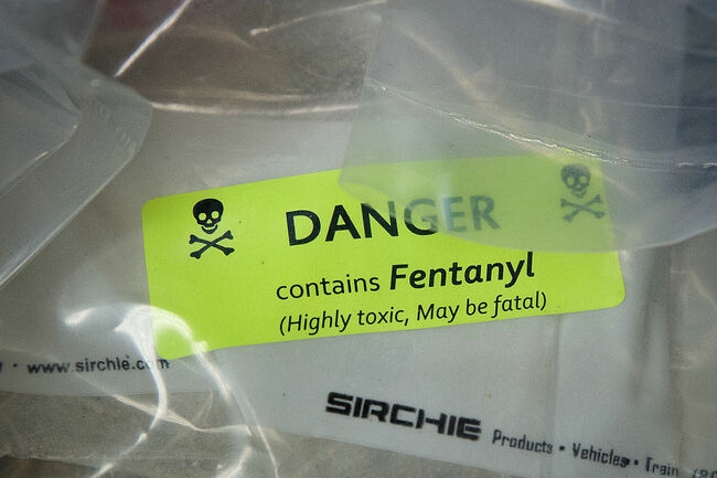 Two Officers and Suspect Examined for Possible Fentanyl