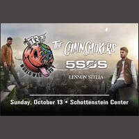 Enter to win tickets to see the Chainsmokers!