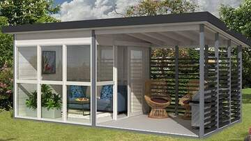 Suzette - Amazon Is Selling A DIY Backyard Guest House That Can Be Built In A Day