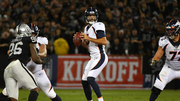Mike Rice - Broncos Fall To Raiders In Season Opener, 24-16
