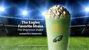 Whiskey and Randy - Philadelphia McDonalds' Adds Shamrock Shake to the Menu a Few Months Early