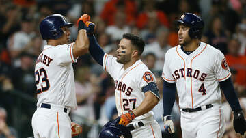 Sports Desk - Astros Blast Seven Homers, Crush A's
