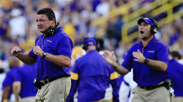 Louisiana Sports - LSU's Orgeron: Chaisson, Lawrence, Logan Getting Rest