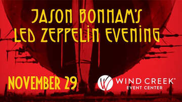 None - Jason Bonham's Led Zeppelin Evening At WCEC 11/29