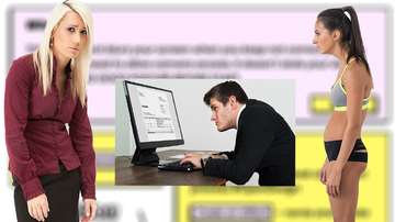 Weird News - If This Website Looks Blurry To You, You've Got Bad Posture