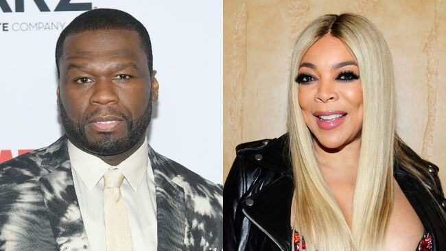 50 Cent Extends Olive Branch To Wendy Williams After Years-Long Feud