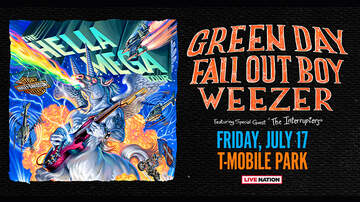image for Hella Mega Tour w/ Green Day, Fall Out Boy & Weezer 7/17 @ T-Mobile Park