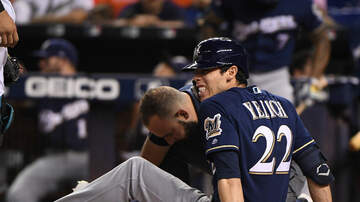 Brewers - Christian Yelich breaks kneecap; will miss rest of season
