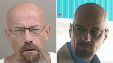Whiskey and Randy - Man Who Looks Just Like Walter White Character Arrested for Meth Possession