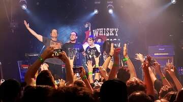 Russ Whip Rose - Green Day, Weezer and Fall Out Boy at the Whisky last night