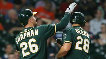 Sports Desk - A's Return Favor, Rout Astros
