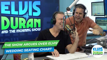 Elvis Duran - The Show Argues Where They Are Sitting At Elvis Duran's Wedding