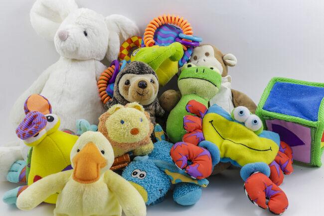 Many Cute Stuffed Animals