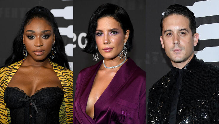 Normani, Halsey, G-Eazy & More Attend Rihanna's Savage X