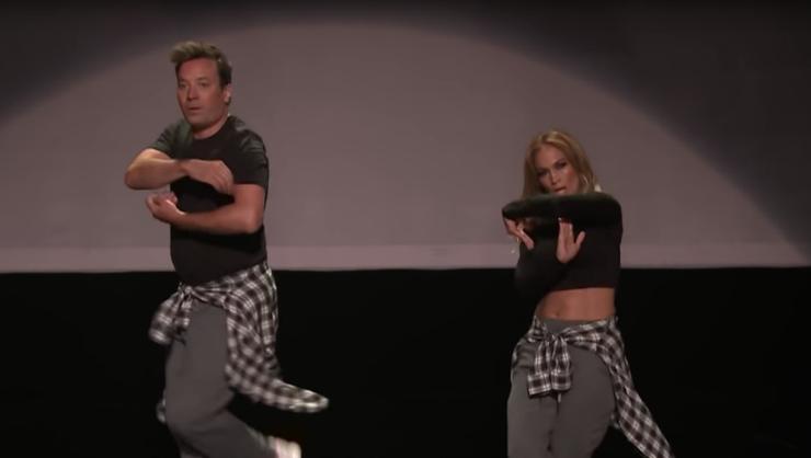 Jennifer Lopez & Jimmy Fallon's 'History Of Music Video Dancing' Is Perfect | iHeartRadio