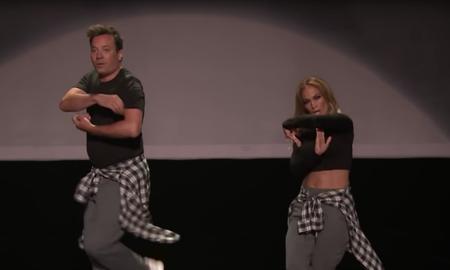 Entertainment News - Jennifer Lopez & Jimmy Fallon's 'History Of Music Video Dancing' Is Perfect
