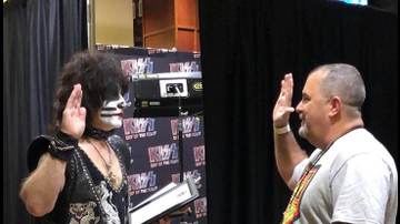 Jim Kerr Rock & Roll Morning Show - KISS Drummer Eric Singer Is Now An Honorary Texas Police Officer