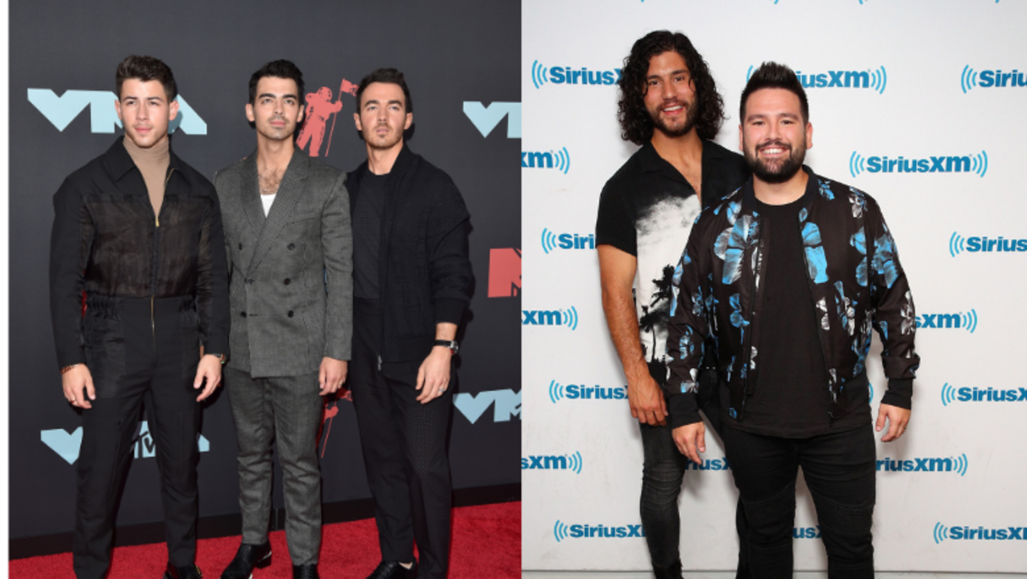 Dan + Shay Join Jonas Brothers To Sing 'Tequila' At Nashville Concert
