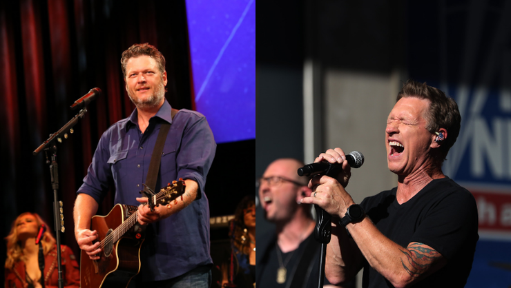 Blake Shelton Says He'd Give Up His Spot On Country Radio For Craig Morgan