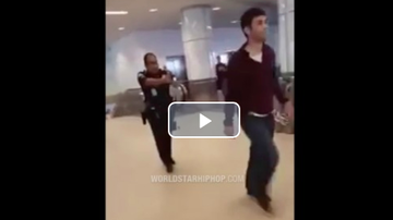 Qui West - SMH: Dude Refuses To Stop At Airport Security & Pays The Price!