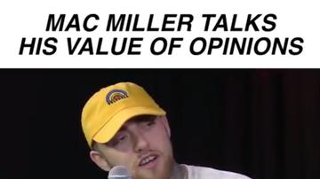 Tino Cochino Radio - Mac Miller Talks His Value Of Opinions