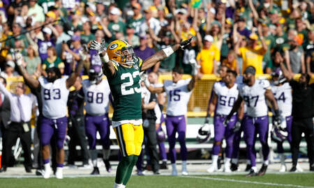 Packers - NFL preview of the Vikings at Packers game today